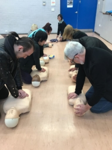 Group First Aid Training